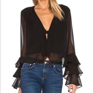 Tularosa black blouse